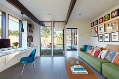 Mid-Mod Eichler Addition Remodel by Klopf Architecture 4