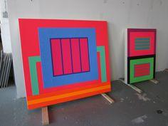 Peter Halley   PICDIT #painting #artist #art