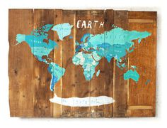 World map #map #illustration