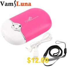 VamsLuna #Eyelash #Dryer #Fans #ini #Portable #USB #Rechargeable #Electric #Bladeless #Handheld