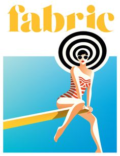 Fabric Malika Favre #illustration #vector