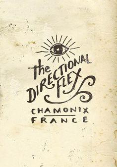 Directional Flex #logo #illustration #typography