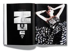 typethatilike: Plastique Magazine Issue 4 of... | SerialThrillerxe2x84xa2 #layout #plastique magazine