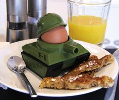 Eggsplode Egg Cup and Soldier Cutter #gadget #home