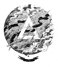 ARCHE Collection #illustration #ink #pen #and