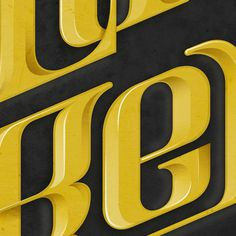 Gold Digger - Tribute to Kanye West music theme #lettering #detail