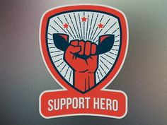 Support Hero Revised #fist
