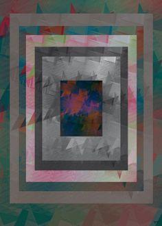 Colour Rain - Poster Art — Home #poster