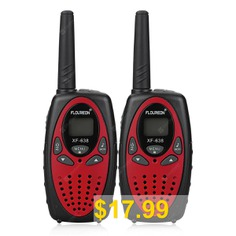 FLOUREON # #8 #Channel #Twin #3KM #Range #Interphone #Walkie #Talkies