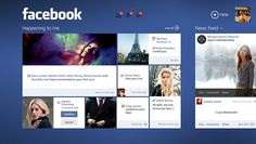Facebook on Windows 8 on Behance #windows8
