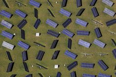 by Aerial Photography #green #aerial #panels #pannels