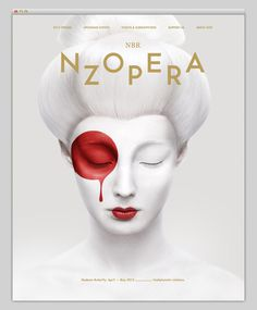 NZ Opera #website #layout #design #web
