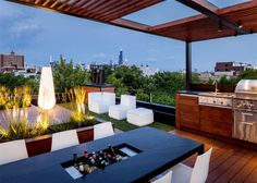 Rooftop retreat