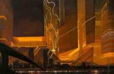Blade Runner concept, Syd Mead