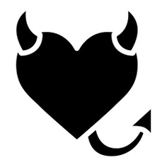 See more icon inspiration related to devil, evil, tail, heart, love and romance, valentines day and love is in the air on Flaticon.