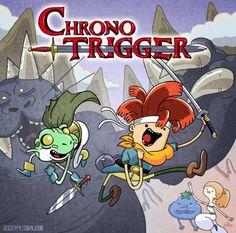 Chrono Trigger Adventure Time #chrono #adventure #trigger #time #cartoon
