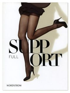 Nordstrom Hosiery - TheDieline.com - Package Design Blog #packaging #type