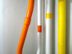 Oculog— #abstract #colorful #photo #yellow #orange #pipes