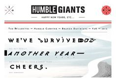 HG_NewsletterTemplate_01_01.jpg (650×440) #design #giants #humble #type #humblegiants #collage