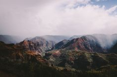 jared chambers Waimea Canyon Kauai #photography #mountains #landscape