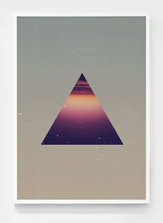The shape of the space #poster #shapes #prints #space