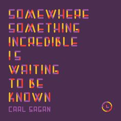 The Gift of Words #carl #red #sagan #yellow #purple