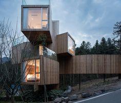 Tree House Hotel in China - Qiyunshan by Bengo Studio 1