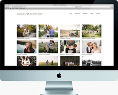 Ariana Tennyson web site #design #web #minimal #photographer