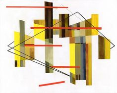 Untitled (4) : Rick Reese #abstract #painting