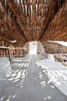Alemagou // Where Design Meets Tradition | Yatzer™ #modern #rustic #living #roof #thatched #outdoor