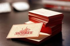 Identity Redesign on the Behance Network #card #food #letterpress #business