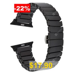 Ceramic #Watchband #for #Apple #Watch #Band #38mm #42mm #Smart #Watch #Links #Bracelet