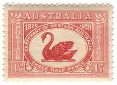 All sizes | Australia postage stamp: Centenary of Western Australia | Flickr - Photo Sharing!