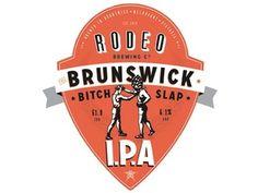 Dribbble - The Brunswick Bitchslap Label by CJ Rhodes