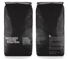 Brothers Coffee Roasters #coffee #brother #roasters #bags