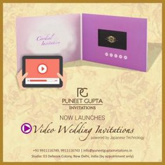 Video Wedding Invitation Box