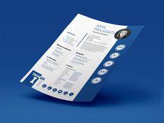 Arya - Free Indesign Resume Template for any Opportunity