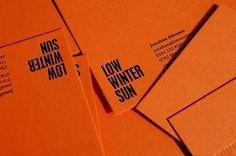 Because Studio — Design & Art Direction/Low Winter Sun