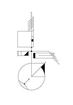 Exploración de ritmo y balance #simple #form #balanced #geometric