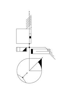 Exploración de ritmo y balance #simple #form #balanced #geometric