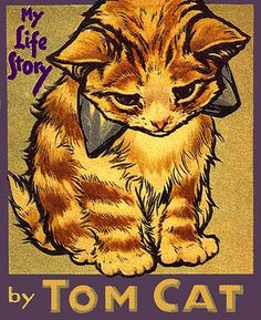 All sizes | My Life Story by Tom Cat | Flickr - Photo Sharing! #kitten #illustration #cat