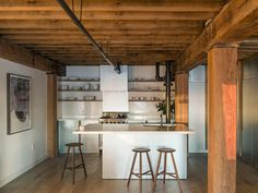 Manhattan Loft Renovation in a Converted 1864 Factory Building 1