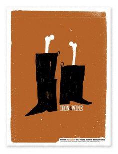 iron_wine_boots.jpg (497×650) #screen #print