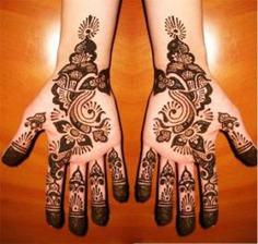 Floral Mehndi Design