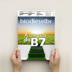 Revista BiodieselBR 41 - marianapoczapski #cover #soybean #biodiesel #bio #editorial #magazine #green