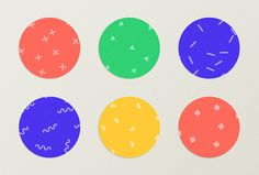 Citinerary by Frederique Matti #patterns #circle #colourful