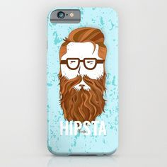 Hipsta Please #hipster, #illustration, #beard, #portrait, #people