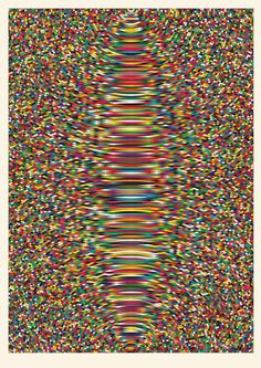 Optical Ripple: A New Geometric Print from Simon C. Page #simon #print #page #poster
