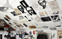 jesper_8.jpg (JPEG paveikslas, dydis: 600×384 taškelių) #inspiration #drawings #wall #studio