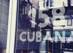 Klim / Lettering & Logotypes / Cubana 158 #linear #klim #typeface